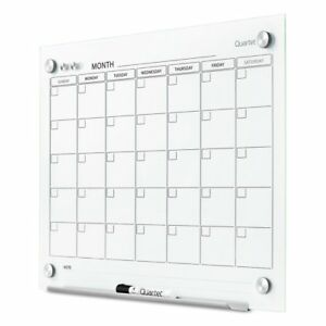 Quartet Infinity Magnetic Glass Calendar Board