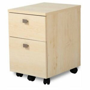 Interface 2 Drawer Mobile File Cabinet By South Shore