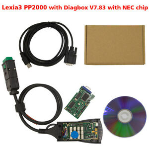 Lite Version Lexia3 Nec Chip Pp2000 With Diagbox Scan V7 83 For Citroen Peugeot