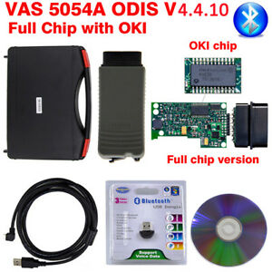 Oki Full Chip Vas 5054a Odis 4 4 10 Bluetooth Obd Diagnostic Tool Vw Audi Skoda