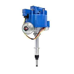 Chevy Late Inline Six 6 Cylinder Hei Distributor 230 250 292 New 65k Coil Blue