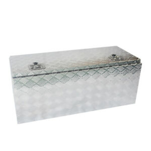 42 Aluminum Truck Pickup Underbody Underbed Tool Box Trailer Storage Toolbox