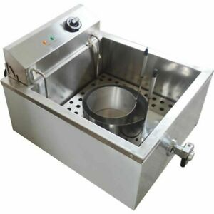 Commercial Shallow Funnel Cake Fryer Single cylinder Electric Fryer Equipment