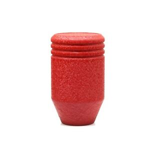 Shiftevo Wrinkle Red Piston 750 Gram Weighted Heavy Shift Knob 10x1 25mm