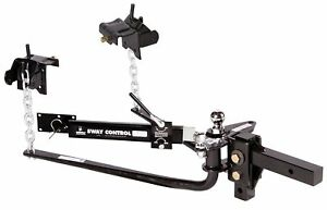 Husky 31997 Round Bar 800 Lb Weight Distribution Hitch Sway Control Trailer Wd