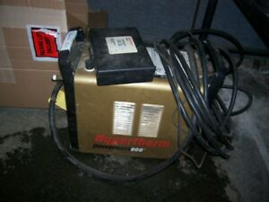 Hypertherm Powermax 600 Plasma Cutter Used For Parts With Extr s