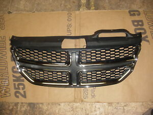 11 12 13 14 15 16 Dodge Journey Front Upper Bumper Grille Chrome Oem 68080192aa