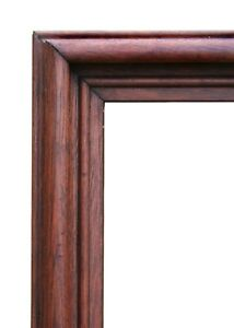 Large Antique Victorian Walnut Frame 23 3 4 X 27 3 4 Overall