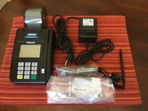Hypercom Ice 5500 Plus Credit Card Reader Terminal used