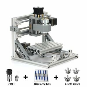 Cnc Router Engraving Machine With 5mm Er11 160x100mm Pcb Pvc Wood Metal Cnc
