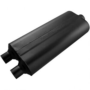 Flowmaster 70 Series Muffler 2 25 Dual In 3 00 Center Out Mild Sound 5