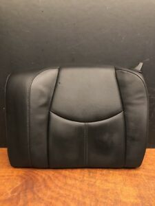 2007 Porsche 911 997 Carrera S Rear Left Driver Upper Seat Black Leather Oem