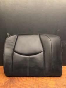 2007 Porsche 911 997 Carrera S Rear Right Passenger Upper Seat Black Leather Oem