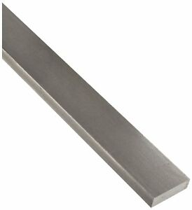1018 Carbon Steel Rectangular Bar Unpolished Mill Finish 3 4 Thickness 3 8