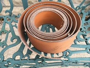 Tractor Steam Engine Hit Miss Machine Pulley Flat Belt 5 Wide 30 Long Nos
