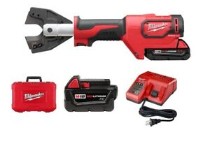 Milwaukee 2672 21 M18 18 volt Cable Cutter Kit W cy al Jaws Extra 3 0 Battery