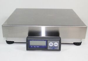 Mettler Toledo Bc60 Usb Shipping Parcel Scale 150lb X 0 05lb stainless Steel