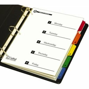Binder Index Dividers Cardinal By Tops Products Onestep 100 Recycled System Of
