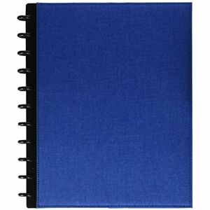 Binding Covers Paper Levenger Circa Bookcloth Foldover Notebook Cobalt Cb
