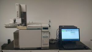 Hp 6890 With Fid Npd Autosampler Computer software Tested Working