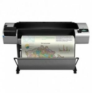 Hp T1300ps 44 Printer Plotter Blueprint Wide Format free 2 Year Warranty