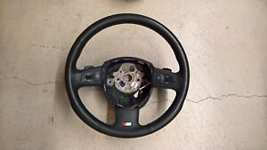 Oem Audi S4 A4 B7 Steering Wheel 3 Spoke Black Air Leather Tiptronic S line