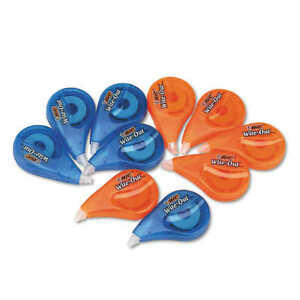 Bic Wite out Ez Correct Correction Tape Non refillable 10 count
