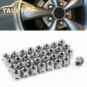 32 Lug Nuts Open End Bulge Acorn 14x2 0 For Ford F150 Expedition Oem Replacement