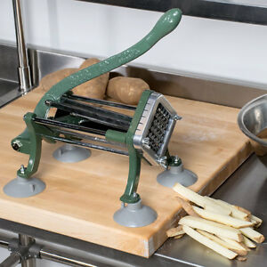 Choice 1 2 French Fry Cutter With Suction Feet