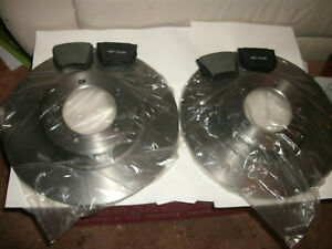 Austin Healey 3000 Bn7 bt7 bj7 early Bj8 Brake Rotors And Pads
