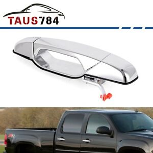 Chrome Outside Door Handle For 2007 2013 Chevy Gmc Front Passenger Right Side