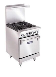 Imperial 24 4 burner Gas Range new Model Ir 4