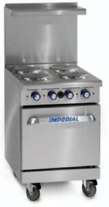 Imperial 24 4 burner Electric Range New Model Ir 4 e