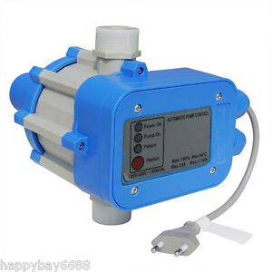 Automatic Water Pump Pressure Controller Electronic Electric Switch Control 220v