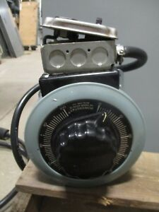 Superior Electric Powerstat 136b 120 Volt 3 1 Kva Variable Autotransformer