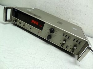 Hewlett Packard Hp Agilent 5327a Frequency Time Counter W Option 001