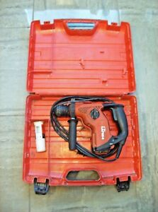 Hilti Te 7 Corded Rotary Hammer Drill With Case