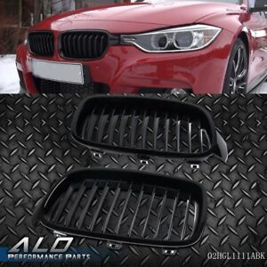 Black Front Hood Kidney Grille Grill For Bmw 3 series F30 F35 2012 2015