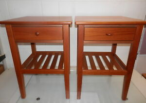 Mobler Mid Century Danish Furniture Nightstands Pre Owned