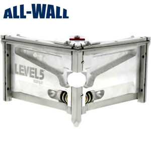 Level5 Wide 4 inch Angle Head Corner Finisher For Drywall Sheetrock Taping