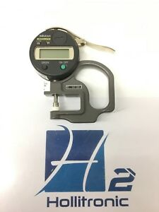 Mitutoyo 547 500 Absolute Digimatic Thickness Gauge used
