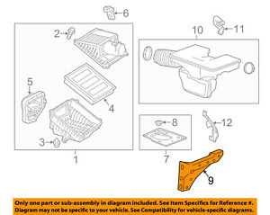 Gm Oem Air Cleaner Intake support 84129816