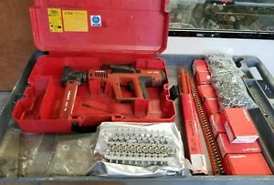 Hilti Dx750 Ram Set Preowned Fastener Guide Magazine 8 Box Nails Shells