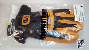 Youngstown Glove Co Fr Hrc2 Mechanics Hybrid Gloves Size Small Fire Resistant S