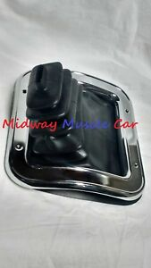 Manual Trans Shifter Boot Retainer Ring W O Console 68 72 Chevy Ii Nova