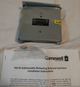 New Gamewell Rsi 95 Addressable Releasing Solenoid Interface 3 Available