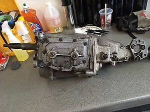 Borg warner T 10 4 Speed Transmission Chevy Pontiac 1961 1962 Used
