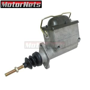 Aluminum Master Cylinder 1 Bore 1 8 Npt Reservoir Girling Clutch High Volumn