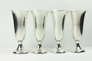 Beautiful And Elegant Gorham 951 Sterling Silver Cordials Set Of Four