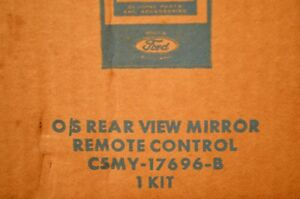 1965 Mercury Nos Oem Remote Mirror Kit C5my 17696 Fomoco Ford
